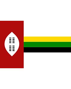 Flag: KwaZulu homeland from 1977-1985 |  landscape flag | 1.35m² | 14.5sqft | 90x150cm | 3x5ft