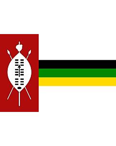 Flag: KwaZulu homeland from 1985-1994 |  landscape flag | 1.35m² | 14.5sqft | 90x150cm | 3x5ft