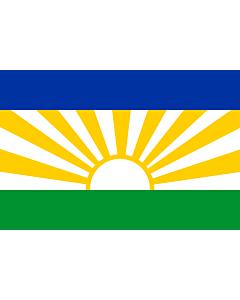 Flag: Lebowa |  landscape flag | 2.16m² | 23sqft | 120x180cm | 4x6ft
