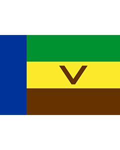 Flag: Venda |  landscape flag | 1.35m² | 14.5sqft | 90x150cm | 3x5ft