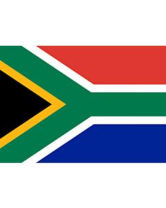 Flag: South Africa |  landscape flag | 0.7m² | 7.5sqft | 70x100cm | 2x3ft
