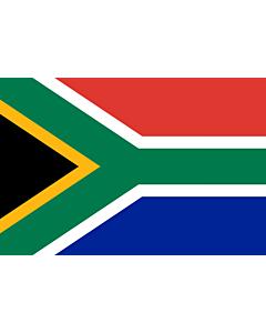Flag: South Africa |  landscape flag | 0.96m² | 10sqft | 80x120cm | 2.5x4ft