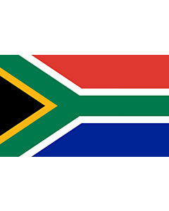 Flag: South Africa |  landscape flag | 1.35m² | 14.5sqft | 90x150cm | 3x5ft