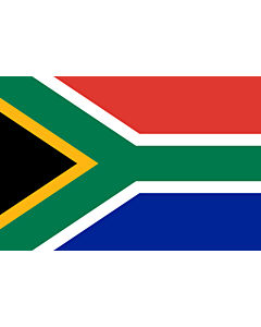 Flag: South Africa |  landscape flag | 6m² | 64sqft | 200x300cm | 6x10ft