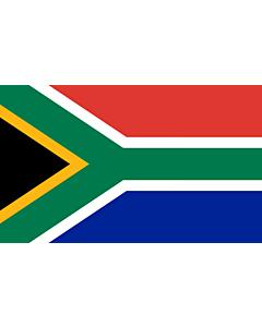 Flag: South Africa |  landscape flag | 6.7m² | 72sqft | 200x335cm | 6x11ft