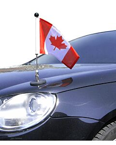 Soporte de bandera para coches con sujeción magnética Diplomat-1.30 Canadá