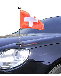 Magnetic Car Flag Pole Diplomat-1.30 Switzerland