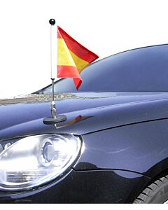Magnetic Car Flag Pole Diplomat-1.30 Spain