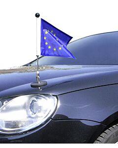 magnetisch haftender Autofahnen-Ständer Diplomat-1.30 Europa (EU)