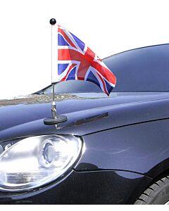 Magnetic Car Flag Pole Diplomat-1.30 Great Britain