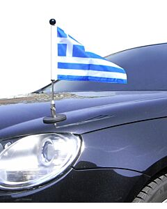 Magnetic Car Flag Pole Diplomat-1 Greece