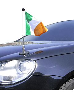 Magnetic Car Flag Pole Diplomat-1.30 Ireland