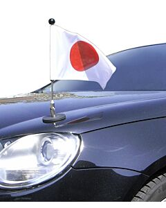 Magnetic Car Flag Pole Diplomat-1.30 Japan