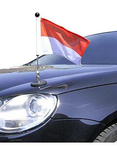 Magnetic Car Flag Pole Diplomat-1 Monaco