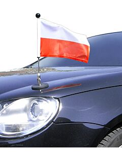 Magnetic Car Flag Pole Diplomat-1 Poland