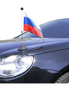 Magnetic Car Flag Pole Diplomat-1 Russia