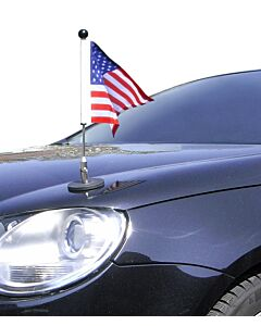 Magnetic Car Flag Pole Diplomat-1.30 USA