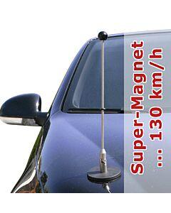 Soporte de bandera para coches con sujeción magnética Diplomat-1.30