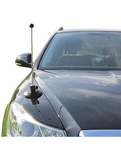 Auto-Flaggen-Ständer Diplomat-Air mit Saugfuß