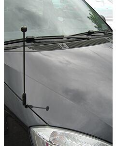 Soporte de bandera para coche Diplomat-Z-Black