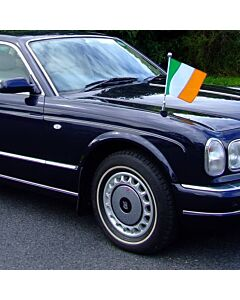 Car Flag Pole Diplomat-Z-Chrome-PRO Ireland