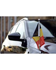 Autoflaggen-Ständer Diplomat-Z-Chrome-PRO Belgien