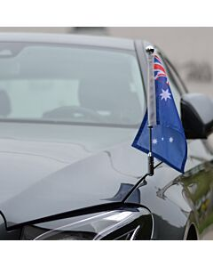 Car Flag Pole Diplomat-Z-Chrome-PRO Australia