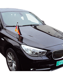 Car Flag Pole Diplomat-Z Germany with coat of arms