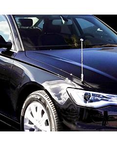 Car Flag Pole Diplomat-Z-Chrome-AUDI  for Audi A6 & A8