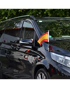 Soporte de bandera para coche Diplomat-Z-Chrome-MB-V  para Mercedes-Benz Clase-V & Vito W447 (2014-)
